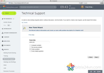 hỗ trợ kỹ thuật bitrix24