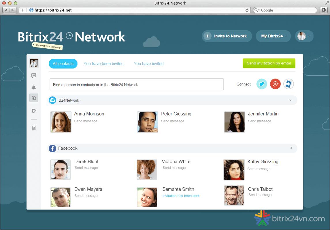 mạng lưới bitrix24