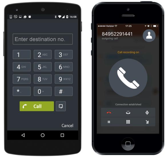 gọi điện thoại trên Bitrix24
