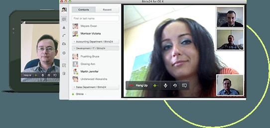 trò chuyện nhóm với bitrix24 group chat