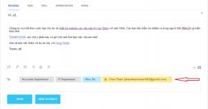 gửi email đến khách hàng trên bitrix24