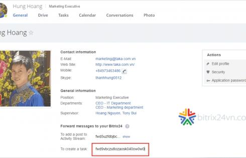 email task trên bitrix24