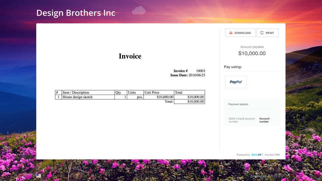 Thanh toán trực tuyến với CRM