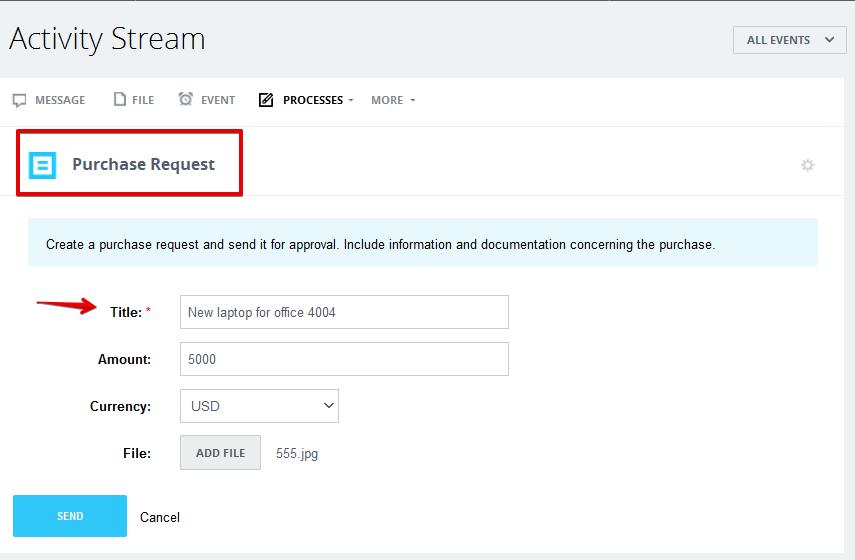 Quy trình yêu cầu mua hàng