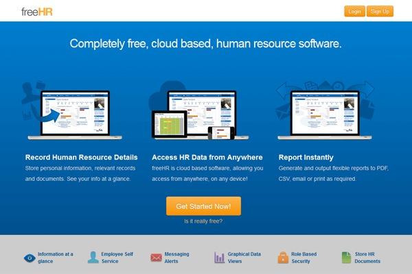 phần mềm nhân sự FreeHR