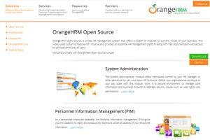 phần mềm nhân sự Orange HR
