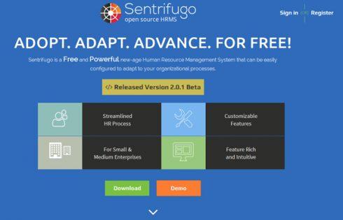 phần mềm nhân sự Sentrifugo