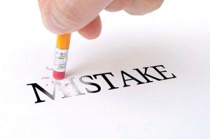 mistake sai lầm