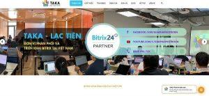 Taka Gold Bitrix Partner lâu năm của Mỹ. ty TNHH Taka