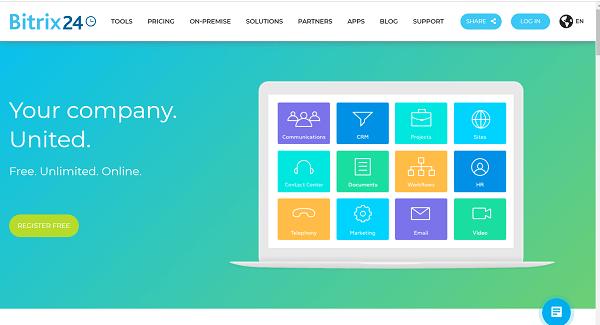 Hướng dẫn đăng nhập Bitrix24 cho người mới