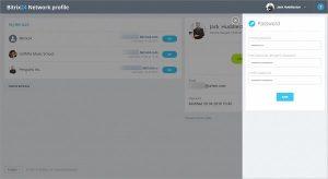 Cách tạo mật khẩu mới trên ứng dụng Bitrix24 Dekstop.