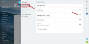 Cách tạo mật khẩu Bitrix24 qua My Profile (hồ sơ cá nhân)