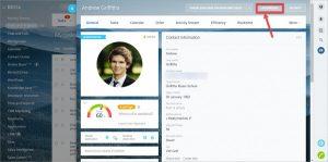 Màn hình tạo mật khẩu Bitrix24 qua My Profile (hồ sơ cá nhân)
