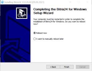 Các bước cài đặt phần mềm Bitrix24