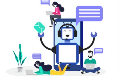Bitrix24 chatbot giúp doanh nghiệp đồng bộ được thông tin khách hàng trên hệ thống CRM.