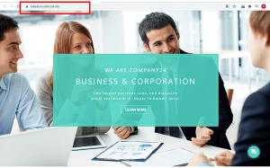 Đường link của trang web thay đổi khi bạn click vào Publish